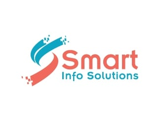 Smart Info Solutions logo design