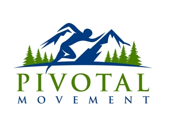 Pivotal Movement  logo design by DreamLogoDesign
