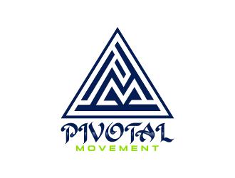 Pivotal Movement  logo design by bluevirusee