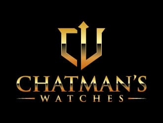 Chatman's Watches logo design