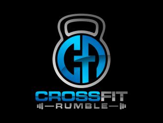 CROSSFIT RUMBLE logo design