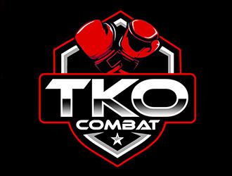 TKO Combat - martial arts  logo design