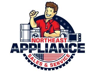 Northeast Appliance Sales & Service logo design