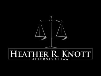 Heather R. Knott, Attorney at Law logo design by crearts