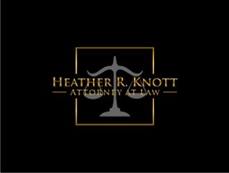 Heather R. Knott, Attorney at Law logo design by sheila valencia