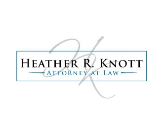 Heather R. Knott, Attorney at Law logo design by REDCROW