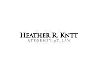 Heather R. Knott, Attorney at Law logo design by crazher
