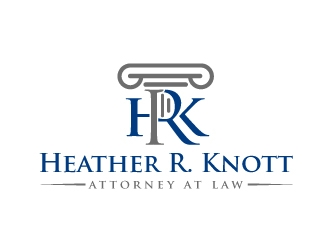 Heather R. Knott, Attorney at Law logo design by aRBy