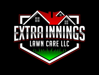 Extra Innings Lawn Care LLC logo design