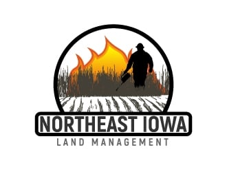 Northeast Iowa Land Management logo design
