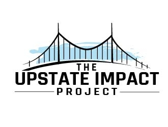 The Upstate Impact Project logo design