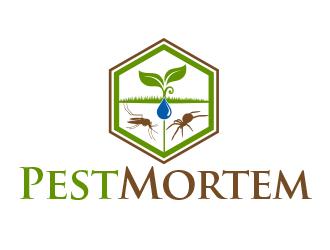 Pest Mortem logo design winner