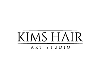 Kims Hair Art Studio logo design