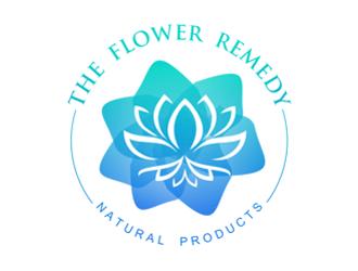 The Flower Remedy logo design