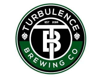 Turbulence Brewing Co Logo Design