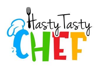 Hasty Tasty Chef logo design