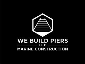 We Build Piers, LLC logo design
