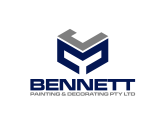 J M Bennett Painting & Decorating Pty Ltd logo design