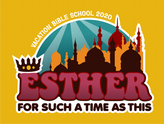 ESTHER For Such A Time As This logo design