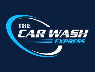 THE CAR WASH EXPRESS logo design