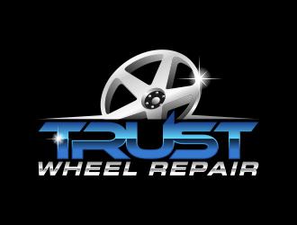 Trust Wheel Repair  logo design
