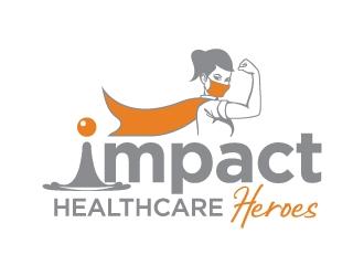 Impact Healthcare Heroes logo design