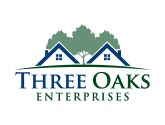 Three Oaks Enterprises logo design