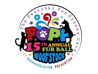 POPP logo design