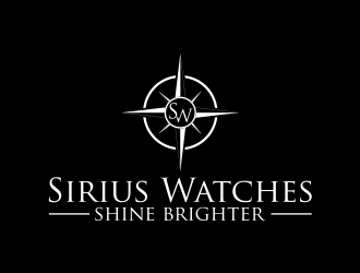 Sirius watches logo design