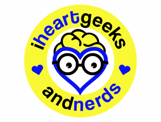 iheartgeeksandnerds logo design