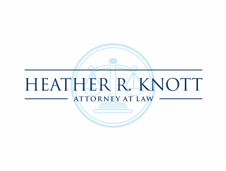 Heather R. Knott, Attorney at Law logo design by scolessi