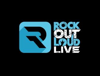 Rock Out Loud Live logo design