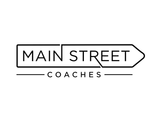 Main Street Coaches logo design
