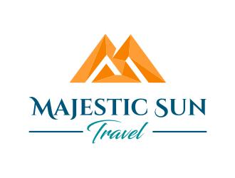 Majestic Sun Travel logo design winner