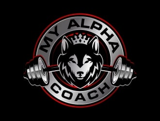 My Alpha Coach logo design