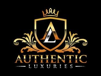 Authentic Luxuries logo design winner