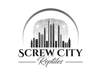 Screw City Reptiles logo design