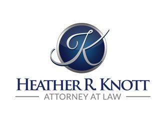 Heather R. Knott, Attorney at Law logo design by kunejo