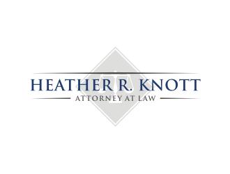 Heather R. Knott, Attorney at Law logo design by asyqh