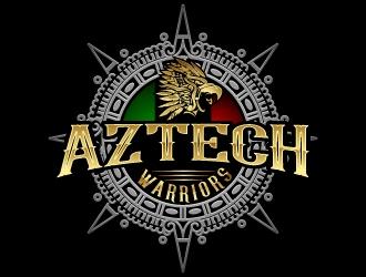 Aztech Warriors logo design