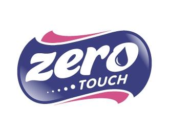 zero touch  logo design