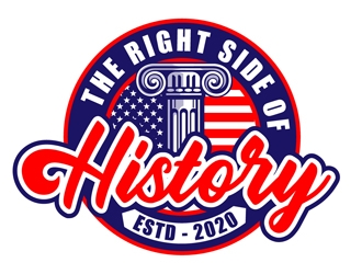 The Right Side of History logo design