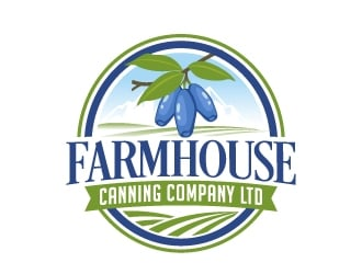 Farmhouse Canning Company Ltd logo design