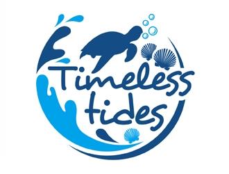 Timeless Tides logo design by MAXR