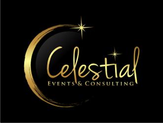 Celestial Companies logo design by sheila valencia