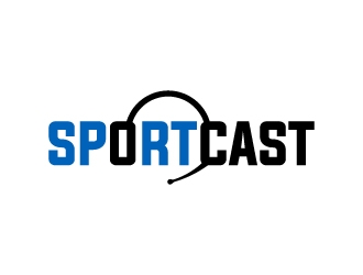 SportsCast logo design by MUSANG