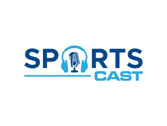 SportsCast logo design by done