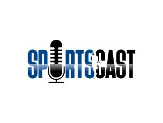 SportsCast logo design by torresace