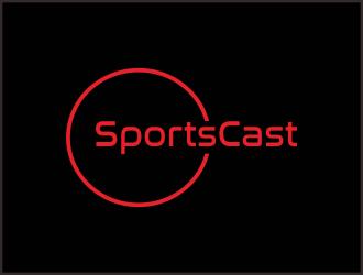 SportsCast logo design by Greenlight