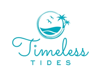 Timeless Tides logo design by cikiyunn